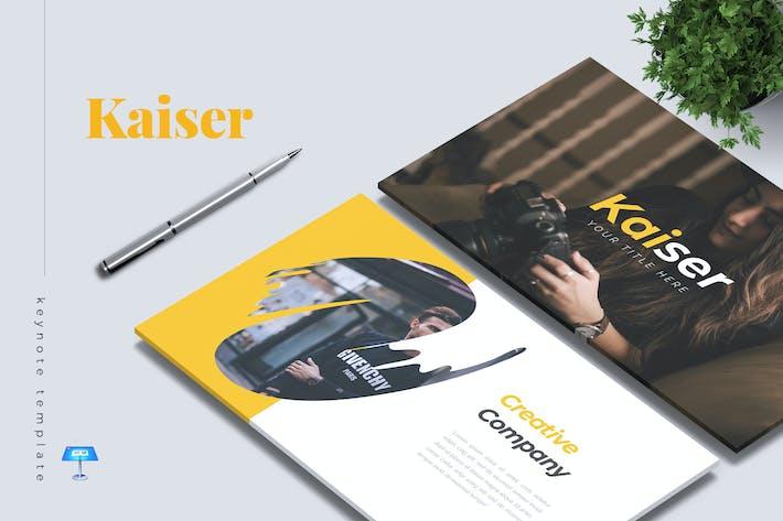 Thumbnail for KAISER - Company Profile Keynote Template