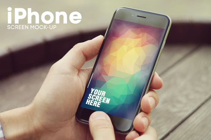 Thumbnail for iPhone 6 Screen Mockup v2