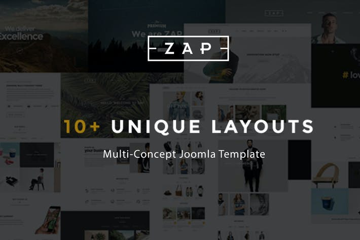 Thumbnail for Zap - Multipurpose Responsive Virtuemart Joomla