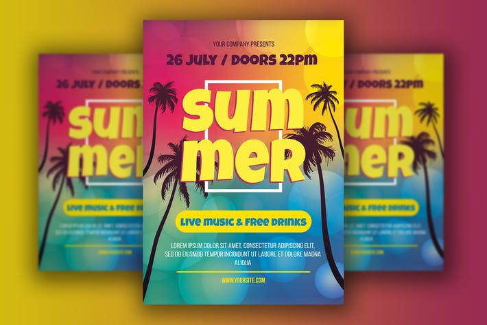 Thumbnail for Summer Palm Beach Flyer