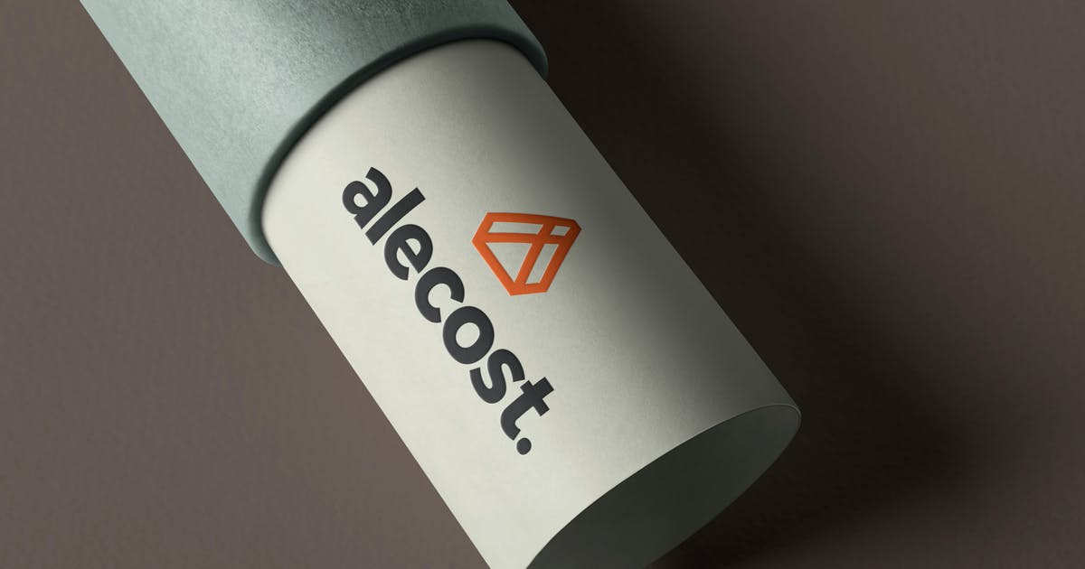 Download Embossed Paper Logo Mockup by GfxFoundry