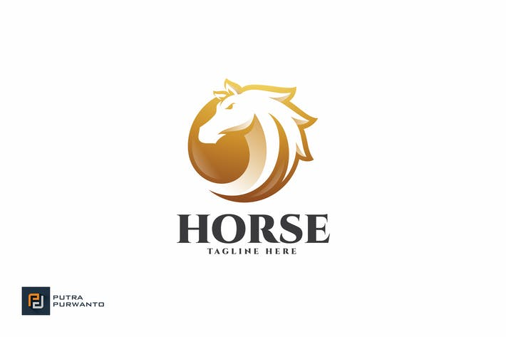 Thumbnail for Horse - Logo Template