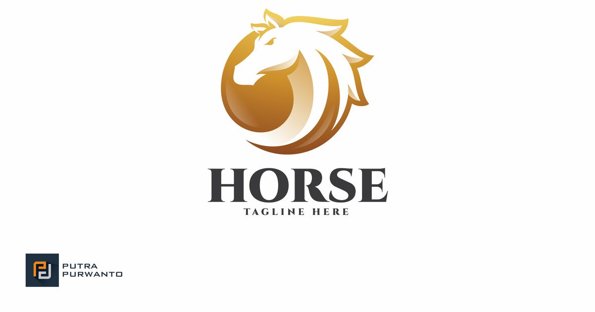 Download Horse - Logo Template by putra_purwanto