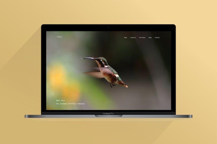 Thumbnail for Tera | Plantilla HTML Responsivo Moderno