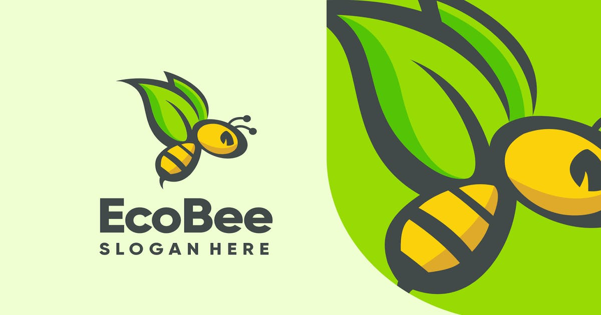 Download Bee Logo Design - [code PW] by GranzCreative