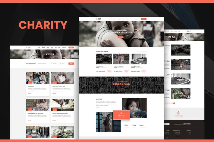 Charity and Donation Fund Volunteer NGO Template