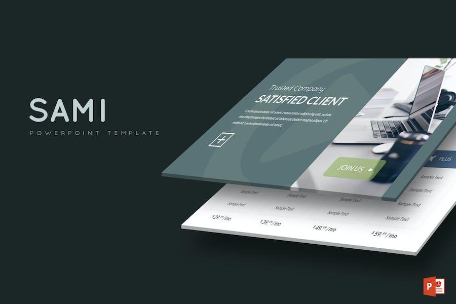 Sami - Powerpoint-Vorlage