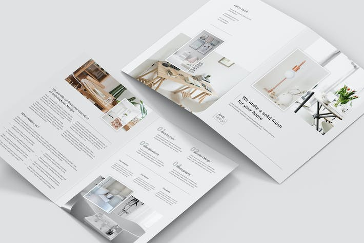 Thumbnail for Brochure – Architectural Studio Bi-Fold