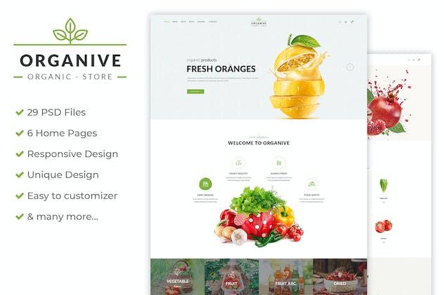 Organive - Organic Store & Eco Food