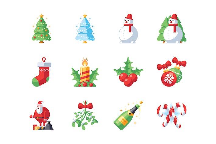 Weihnachts- und Neujahrssymbol