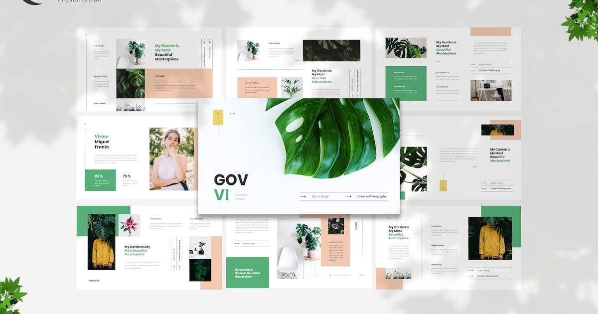 Download Govvi- Exotic Plant Presentation Template by naulicrea