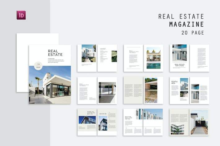 Thumbnail for Living Real Estate Magazine