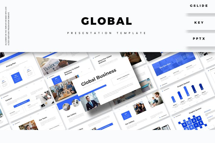 Thumbnail for Global - Presentation Template