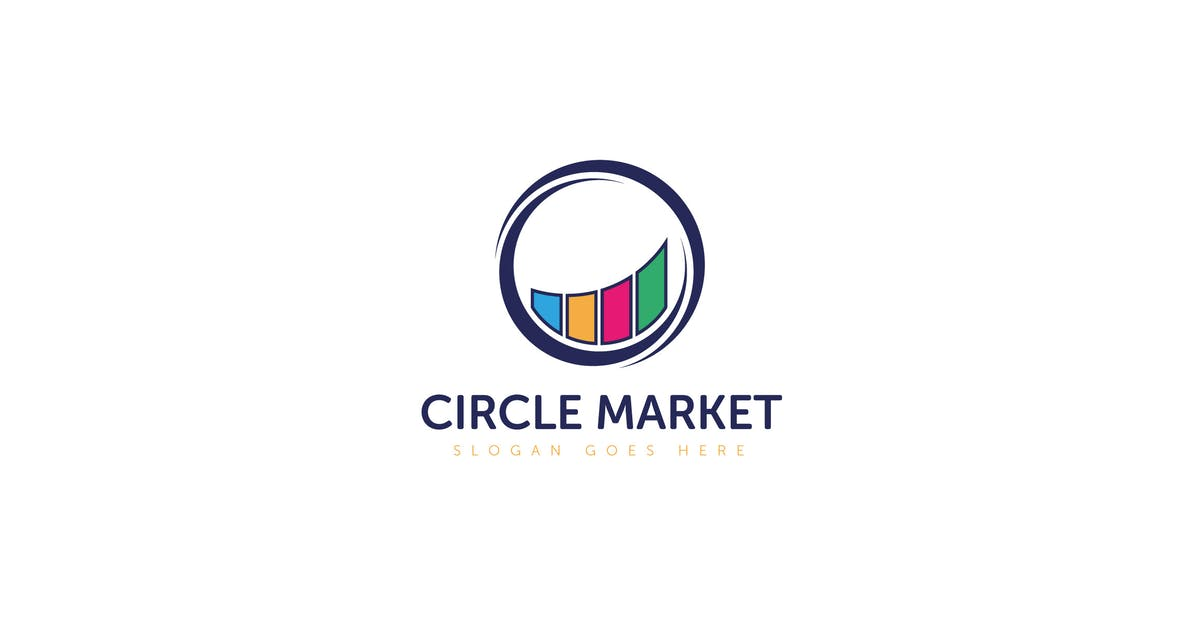 Download Circle Market Logo Vector Template by Pixasquare