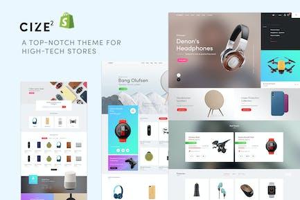 Cize - Tienda de electrónica Shopify Tema