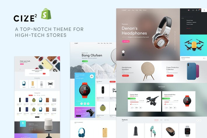 Thumbnail for Cize - Electronics Store Shopify Theme