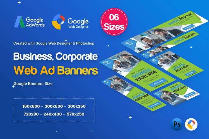 Cover Image For Multipurpose, Business, Corporate HTML5 D17 - GWD
