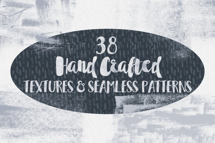 Cover Image For Hand Crafted Textures and Patterns