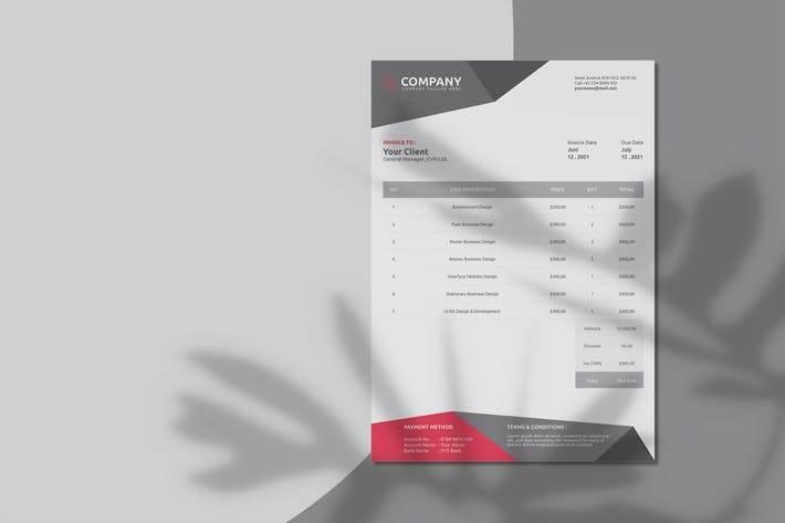 Corporate Invoice – Invoice Template