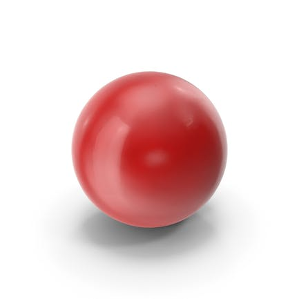 Snooker roter Ball