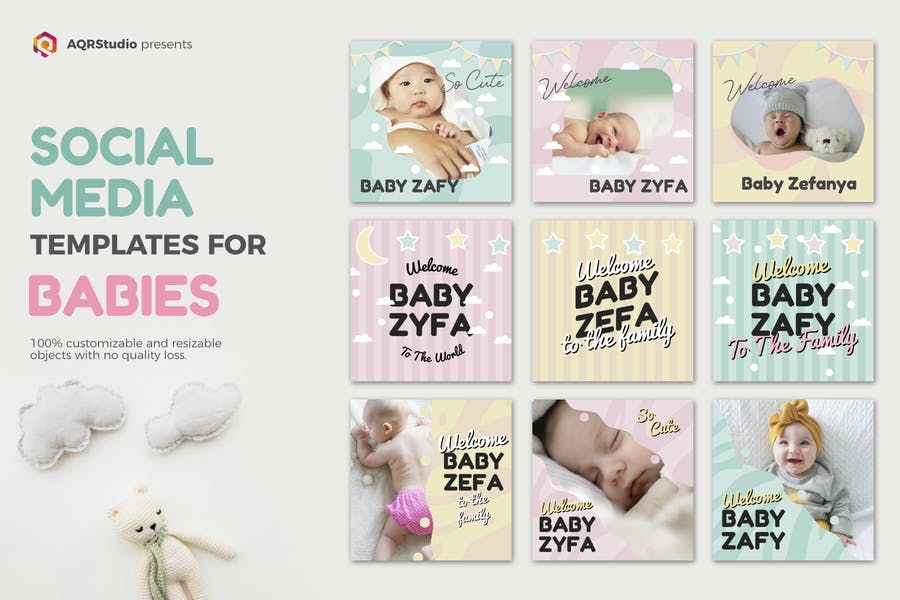 Baby Media Banners