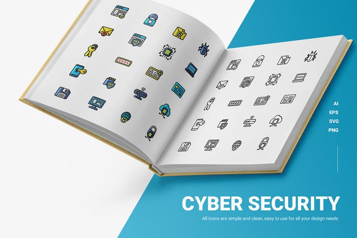 Cyber Security - Icons
