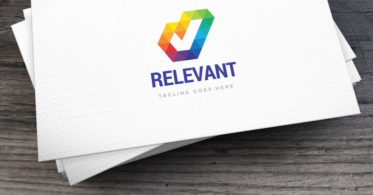 Download Relevant Logo Template by empativo