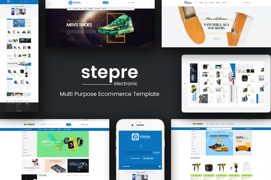 Download Stepre - Multipurpose Responsive Prestashop Theme by posthemes