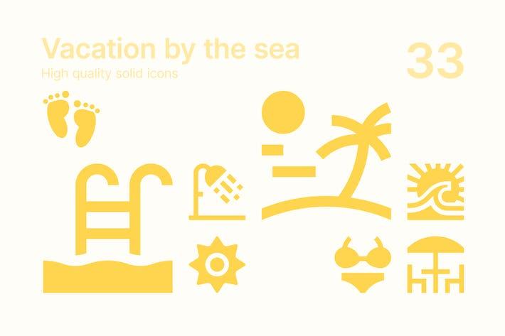 Thumbnail for Urlaub am Meer Icons
