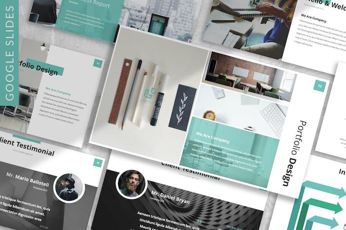 Thumbnail for Stendarr - Business Google Slides Template