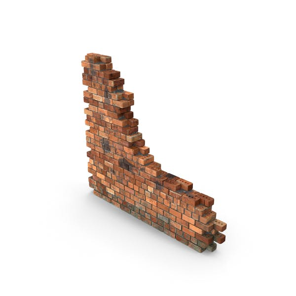 Грязь Кирпич Секция стены