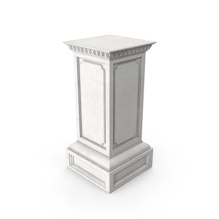 Griechisch-römische Säulenbasis