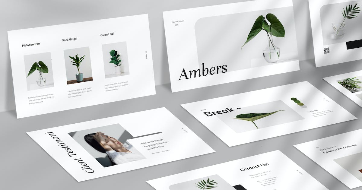 Download Ambers Keynote by VisualColony
