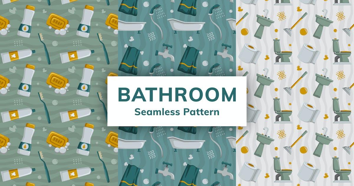 Download Bathroom Seamless Pattern by deemakdaksinas