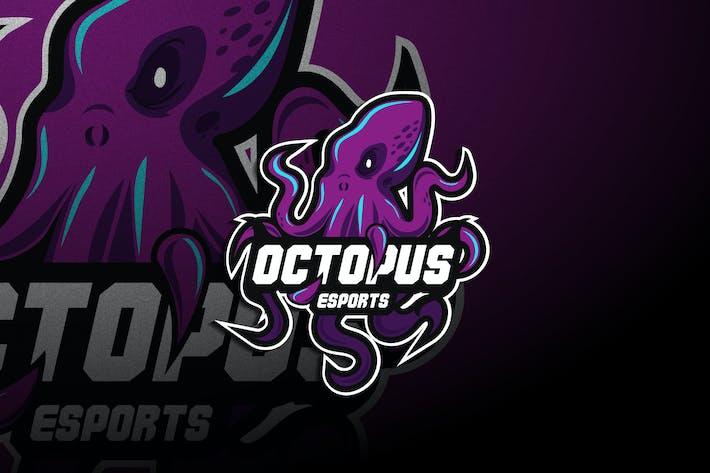 Thumbnail for Octopus Esports - Mascot & Esport Logo