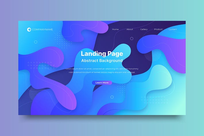 Thumbnail for Background Abstract Landing Page