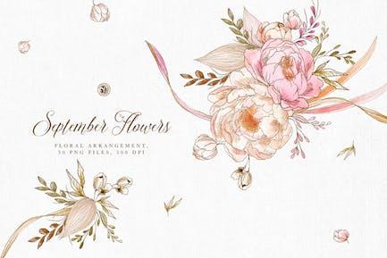 Flores de septiembre