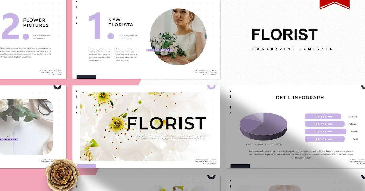 Download Florist   Powerpoint Template by Vunira