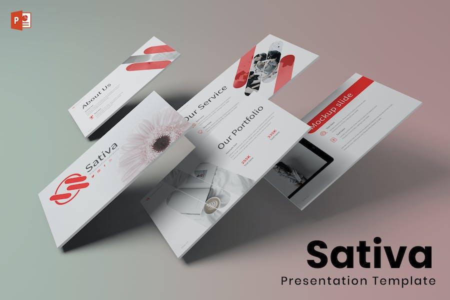 Sativa - Powerpoint Template