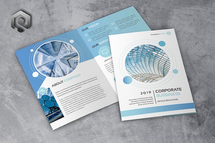 Thumbnail for Company Technology Bifold Brochure