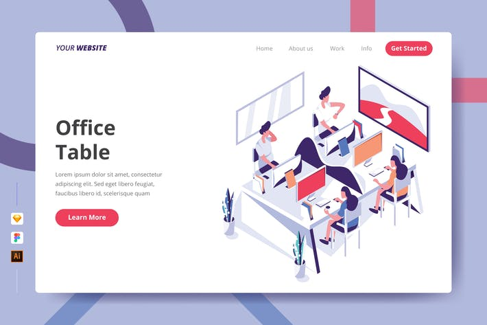 Thumbnail for Office Table - Landing Page