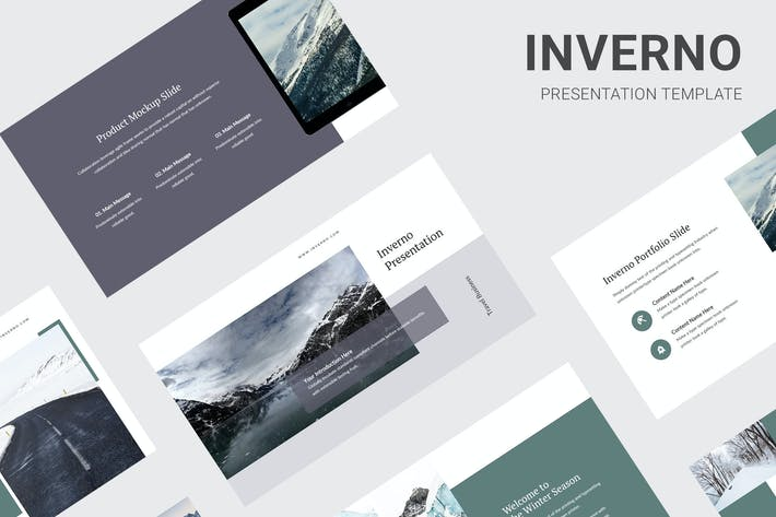 Cover Image For Inverno - Winter Theme Keynote