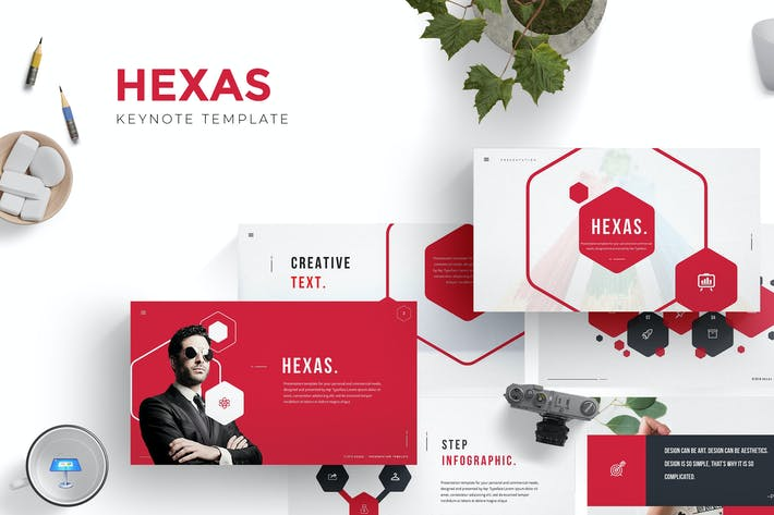 Thumbnail for Hexas Keynote Template