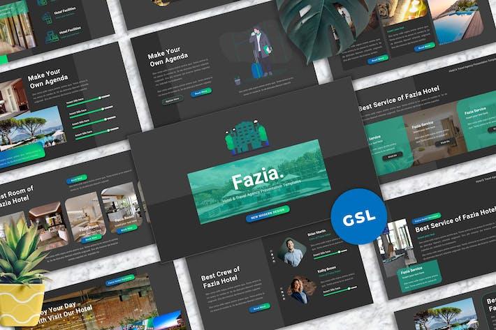 Fazia - Hotel Googleslide Templates