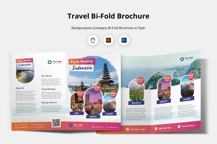 Thumbnail for Travel Brochure