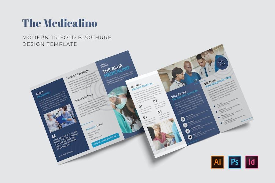 Medicalino Trifold Brochure