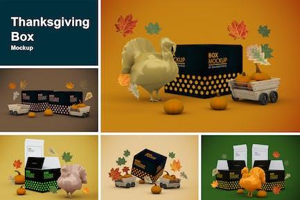 Boîte de Thanksgiving