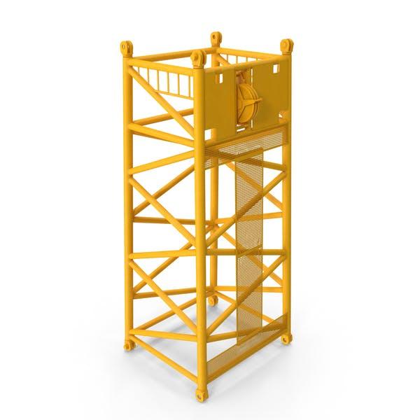 Crane SL Reducing Section 6 75m Yellow