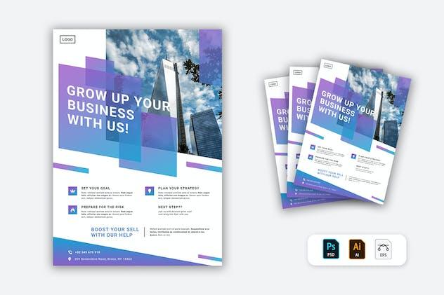 Marketing Agency Flyer