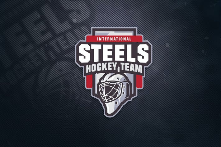 Thumbnail for Steels hockey Team Sports Logo